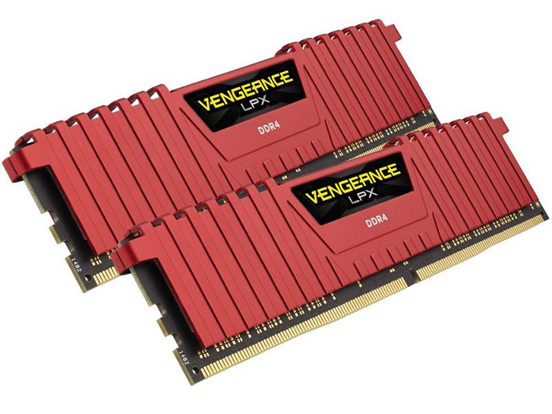 Модуль памяти Corsair DDR4 8Gb (2x4Gb) 2133MHz PC4-17000 CL13 CMK8GX4M2A2133C13R