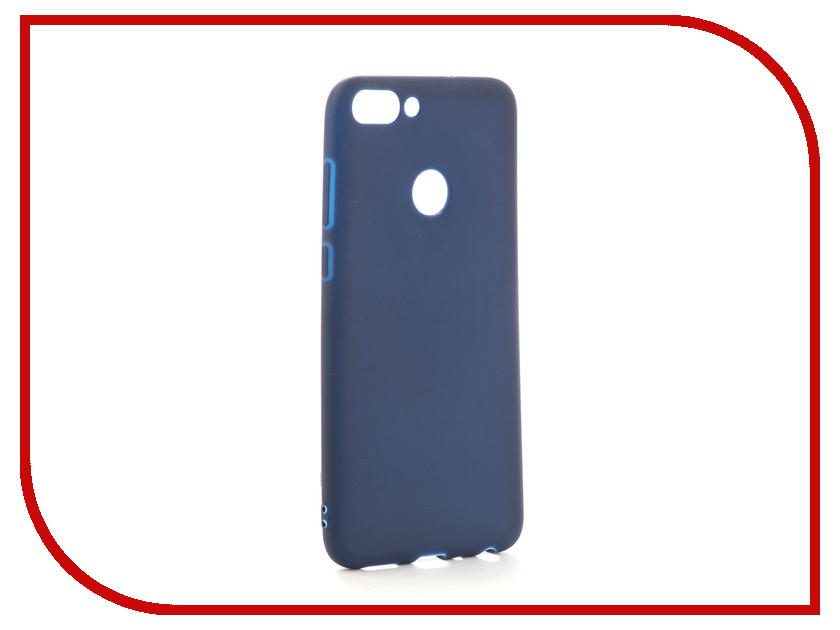 Аксессуар Чехол для Huawei P Smart Neypo Soft Matte Silicone Dark Blue NST3850 protective matte silicone case for iphone 5 5s dark blue white