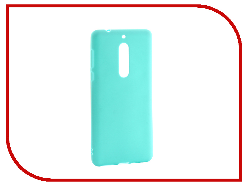Аксессуар Чехол для Nokia 5 Neypo Soft Matte Silicone Turquoise NST3855