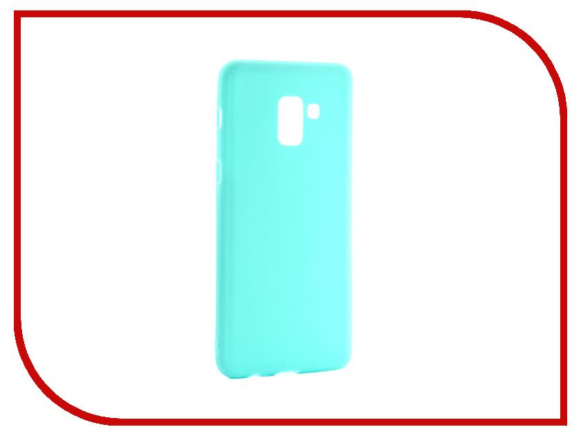 Аксессуар Чехол для Samsung Galaxy A8 Plus 2018 Neypo Soft Matte Silicone Turquoise NST3858 аксессуар чехол для samsung galaxy s8 neypo silicone soft matte black nst2548