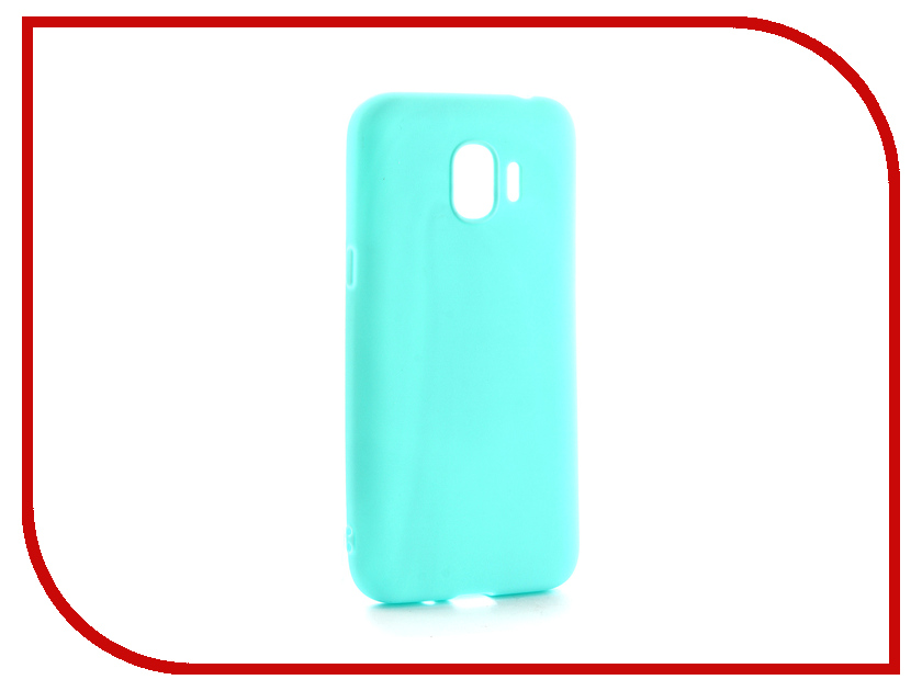 Аксессуар Чехол для Samsung Galaxy J2 2018 Neypo Soft Matte Silicone Turquoise NST3860 аксессуар чехол для samsung galaxy j1 2016 sm j120h ds neypo soft matte silicone black nst0216