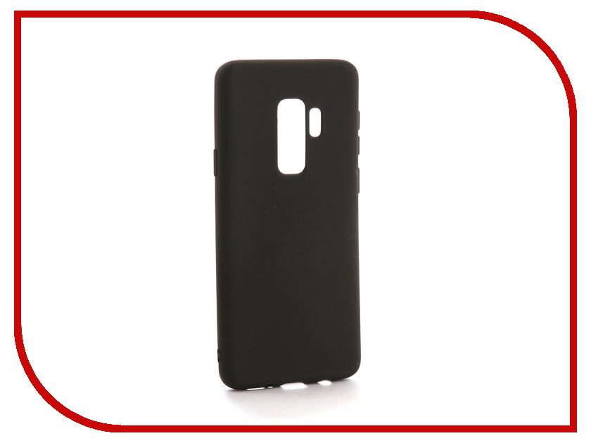 Аксессуар Чехол Samsung Galaxy S9 Plus Neypo Soft Matte Silicone Black NST3870 аксессуар чехол samsung galaxy a7 2017 with love moscow silicone russia 5090