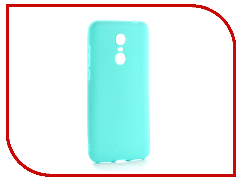 Аксессуар Чехол для Xiaomi Redmi 5 Plus Neypo Soft Matte Silicone Turquoise NST3862 аксессуар чехол для xiaomi redmi note 5 5 pro neypo soft touch black st3904