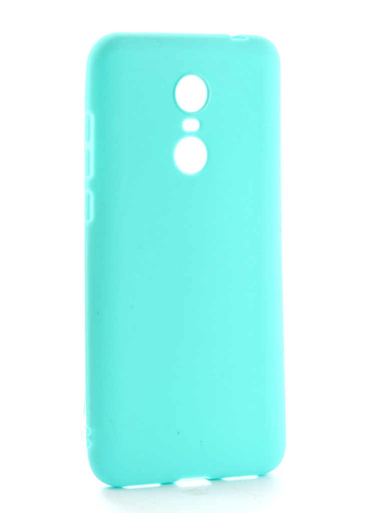 Аксессуар Чехол Neypo для Xiaomi Redmi 5 Plus Soft Matte Silicone Turquoise NST3862