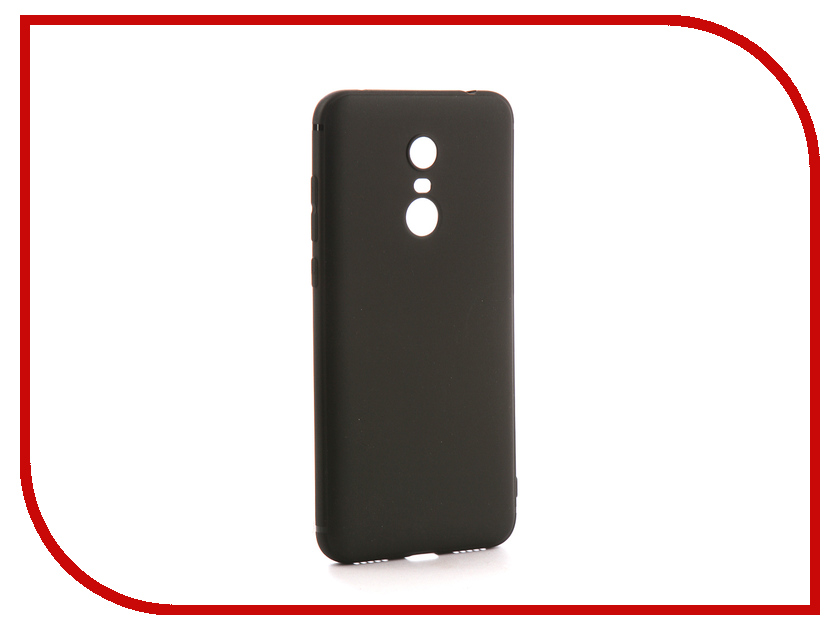 Аксессуар Чехол для Xiaomi Redmi 5 Plus Neypo Soft Matte Silicone Black NST3663