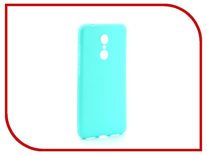 Аксессуар Чехол Xiaomi Redmi 5 Neypo Soft Matte Silicone Turquoise NST3857 аксессуар чехол xiaomi redmi 4 onext silicone transparent 70500