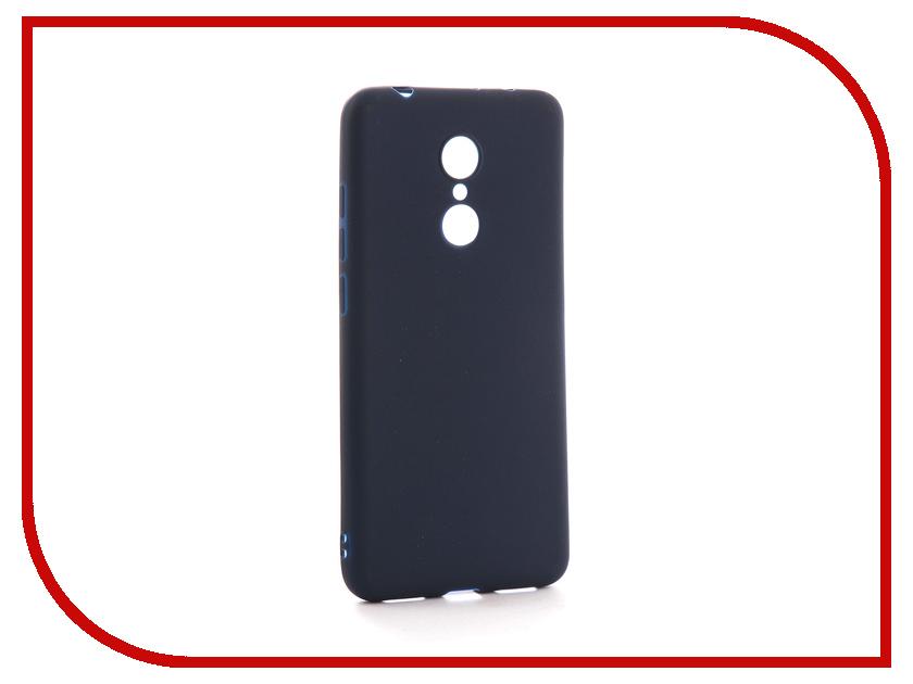 Аксессуар Чехол Xiaomi Redmi 5 Neypo Soft Matte Silicone Dark Blue NST3852 аксессуар чехол xiaomi redmi 4 onext silicone transparent 70500