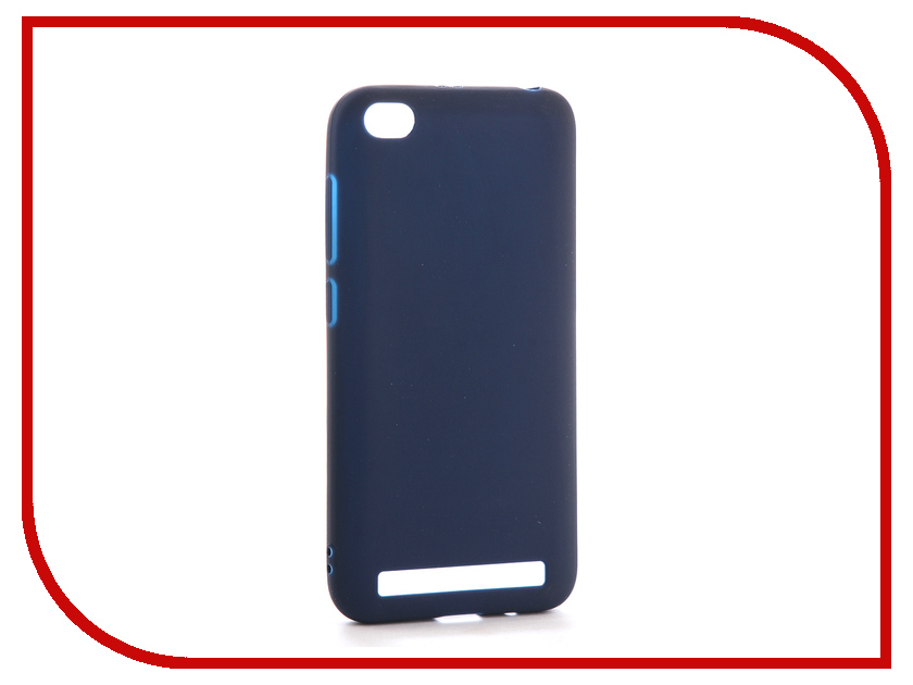 Аксессуар Чехол для Xiaomi Redmi 5A Neypo Soft Matte Silicone Dark Blue NST3610 mooncase s line soft flexible silicone gel tpu skin shell back чехолдля htc one m9 blue