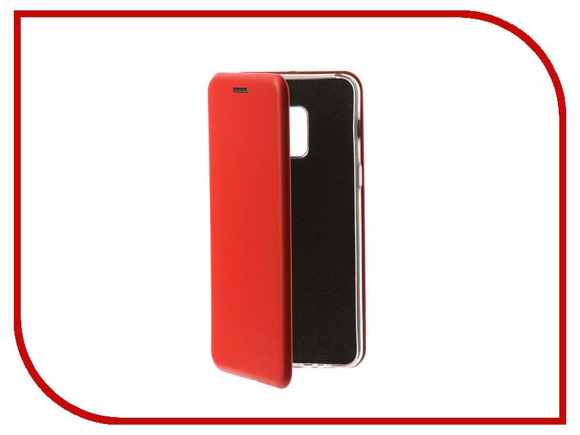 Аксессуар Чехол для Samsung Galaxy A8 2018 Neypo Premium Red NSB3878 аксессуар чехол samsung galaxy a8 2018 neypo silicon neon black nstn3707
