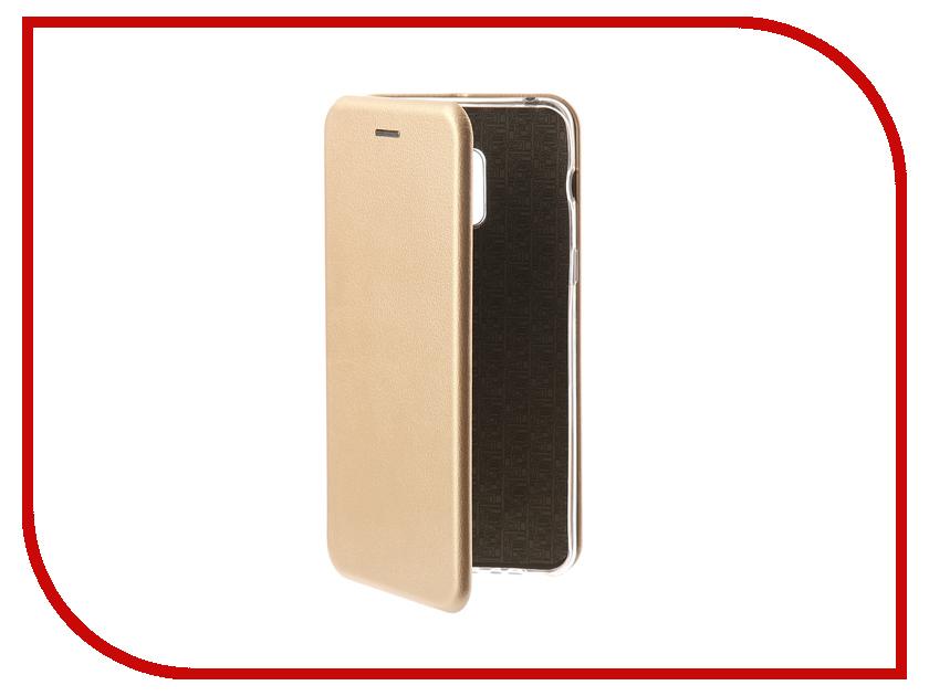 Аксессуар Чехол для Samsung Galaxy A8 Plus Neypo Premium Gold NSB3840 аксессуар чехол samsung galaxy a8 2018 neypo silicon neon black nstn3707