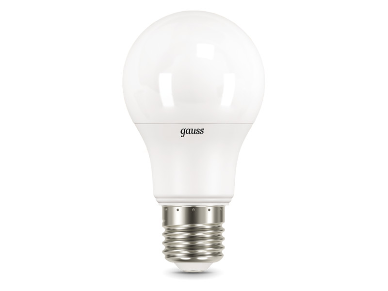 Лампочка Gauss LED E27 A60 10W 3000K 102502110