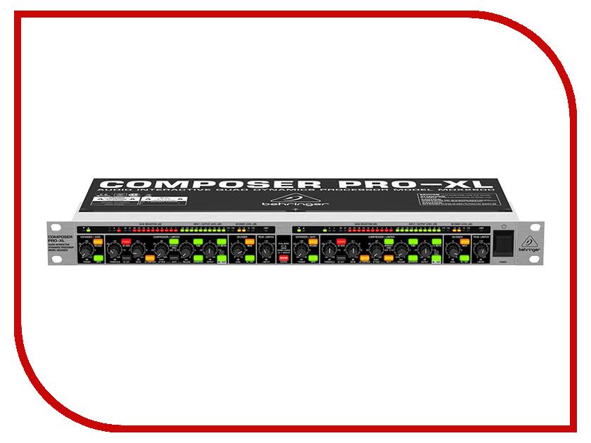Компрессор Behringer MDX2600 адаптер питания behringer psu6