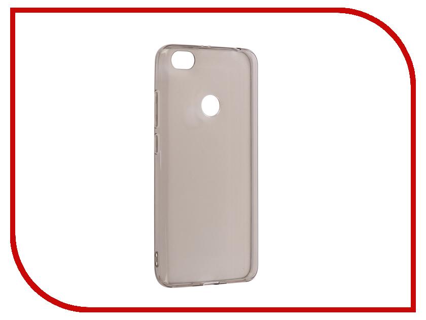 Аксессуар Чехол для Xiaomi Redmi Note 5A / Note 5A Pro Snoogy Silicone 0.35mm Black Sn-slk-Xia-n5A/5APro-blk