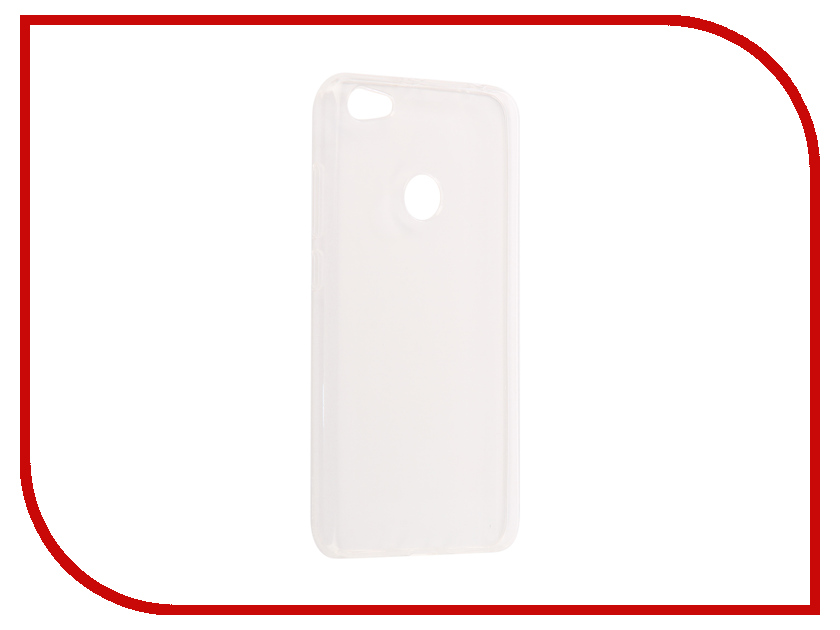 Аксессуар Чехол Xiaomi Redmi Note 5A / Note 5A Pro Snoogy Silicone 0.35mm White Sn-slk-Xia-n5A/5APro-wht