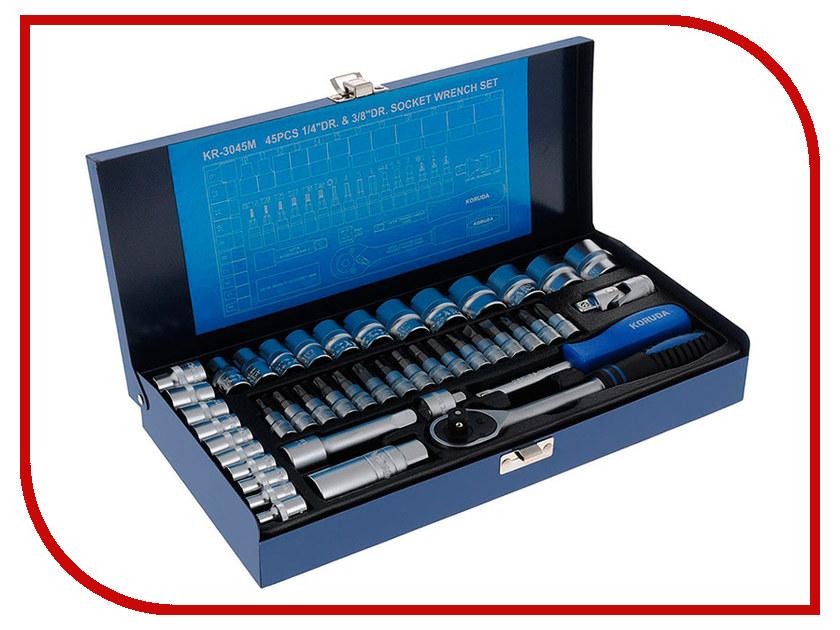 Ключ Koruda KR-3045M набор инструментов универсальный koruda в кейсе 45 предметов kr tk45