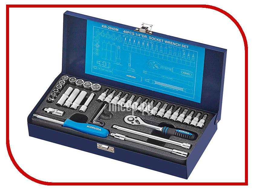 Ключ Koruda KR-2040M набор инструментов универсальный koruda в кейсе 45 предметов kr tk45