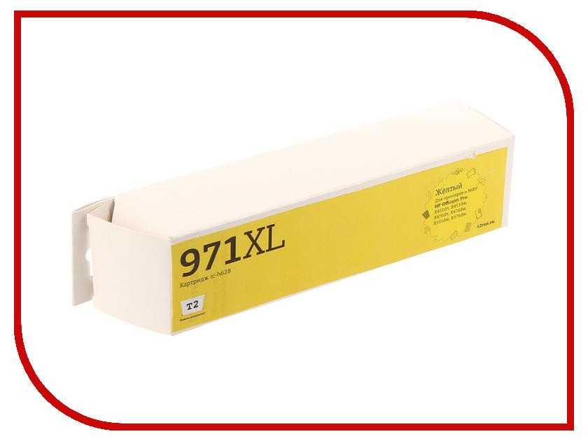 Картридж T2 №971XL Yellow для Officejet Pro X451/X551dw/X576dw картридж hp 971xl cn628ae желтый cn628ae
