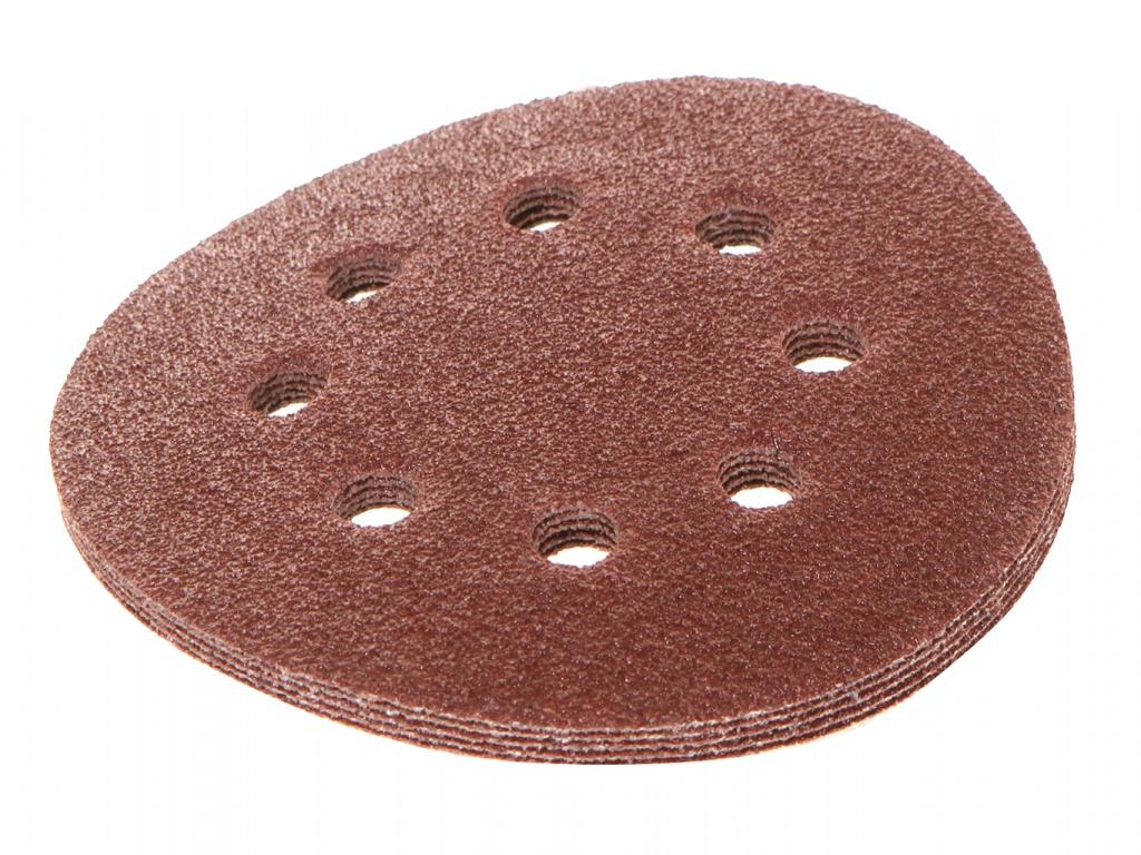 Круг шлифовальный на липучке Зубр 35350-125-040