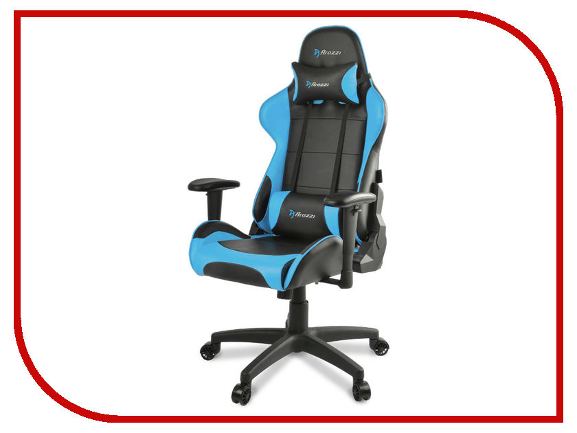 Компьютерное кресло Arozzi Verona Gaming Chair V2 Blue simple modern soft multifunctional boss chair leisure lying staff manager office chair lifting swivel computer gaming chair