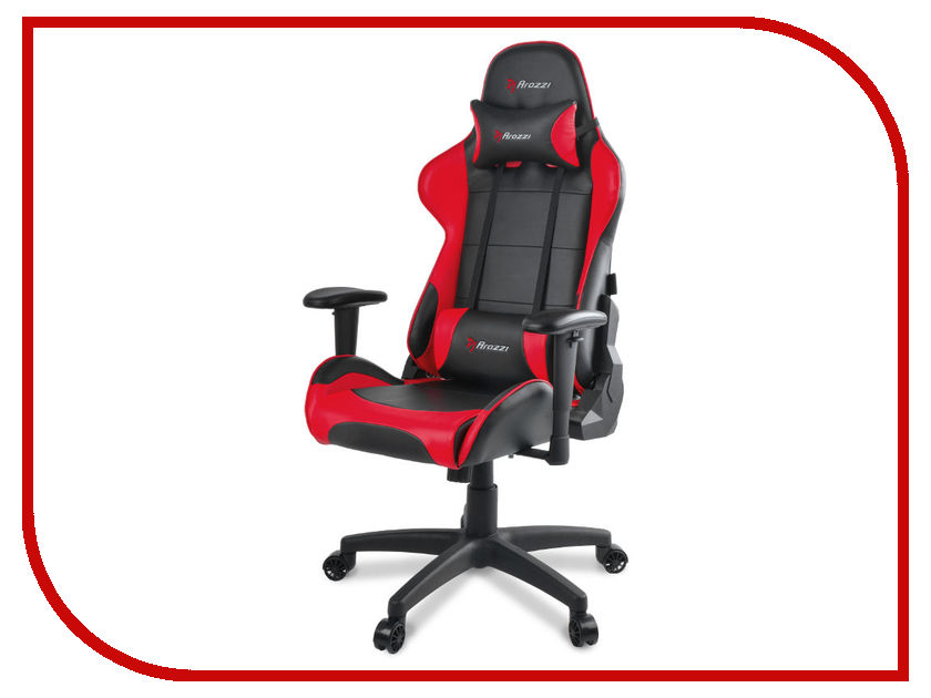 Компьютерное кресло Arozzi Verona Gaming Chair V2 Red wb 3365 auman computer home office cloth seat staff boss lunch gaming chair