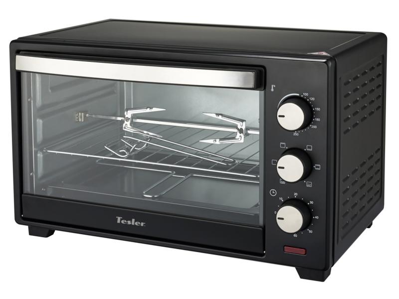 Мини печь Tesler EOG-1800 Black морозильник tesler rf 90 белый