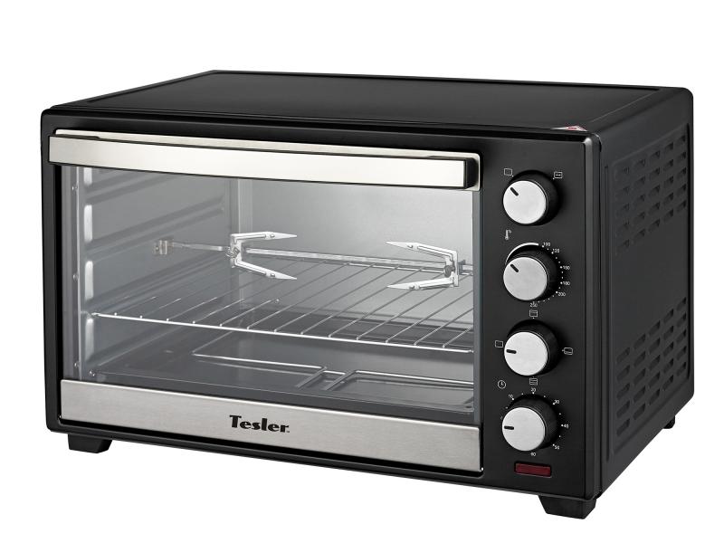 Мини печь Tesler EOG-3800 Black tesler eog 2900 white мини печь