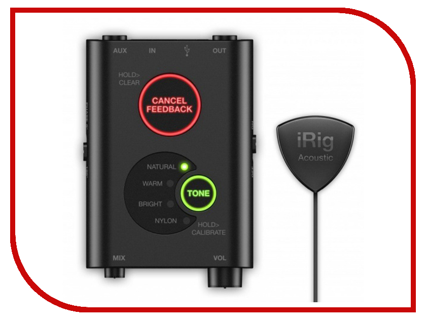 Микрофон IK Multimedia iRig Acoustic Stage IP-IRIG-ACOSTG-IN