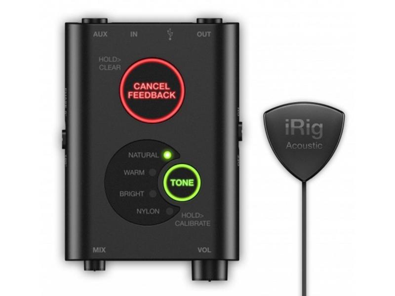 Микрофон IK Multimedia iRig Acoustic Stage IP-IRIG-ACOSTG-IN цена и фото