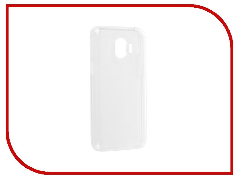 Аксессуар Чехол для Samsung Galaxy J2 2018 iBox Crystal Silicone Transparent аксессуар чехол накладка для samsung galaxy s7 edge ibox crystal transparent
