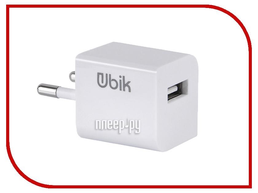 Зарядное устройство Ubik UHS11L 1xUSB 1A Кабель Lightning White зарядное устройство dotfes c04 1a кабель lightning black
