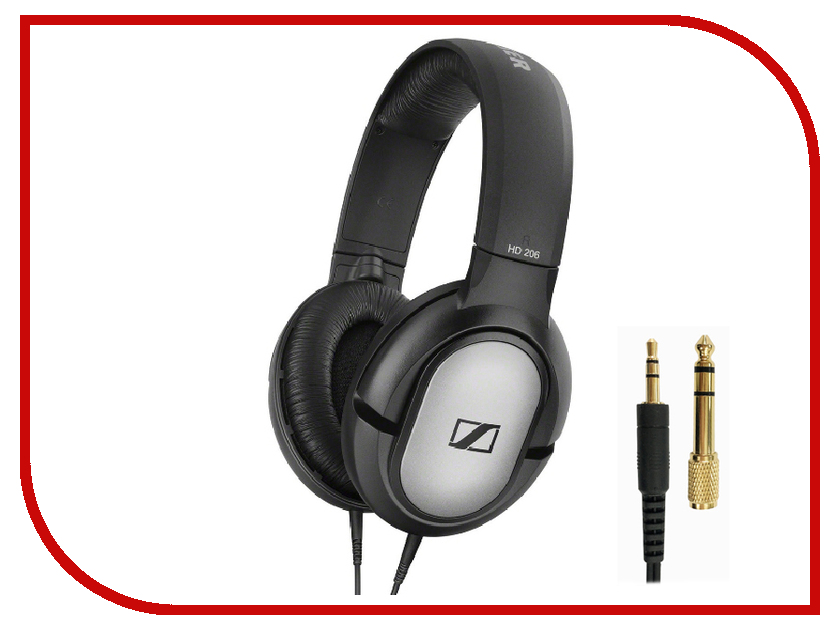 где купить Sennheiser HD 206 Black дешево