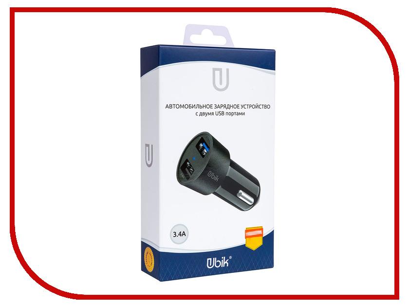 все цены на Зарядное устройство Ubik UCP23 2xUSB 3.4A Black