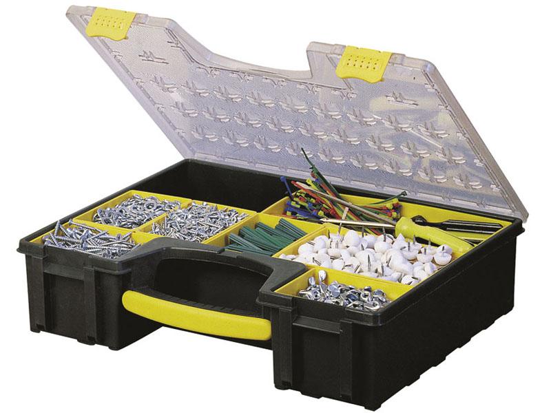 Ящик для инструментов Stanley 1-92-749 ящик с органайзером stanley jumbo 1 92 908 31 4x56 2x30 см желтый черный
