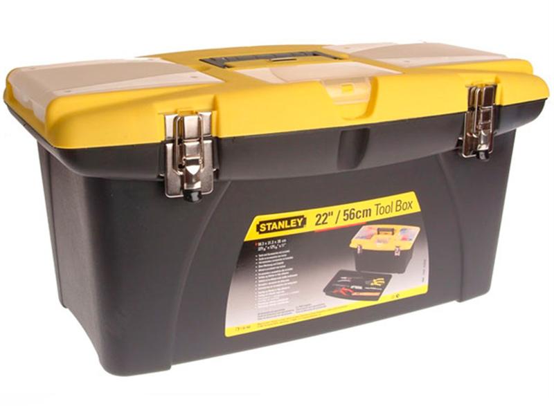 Ящик для инструментов Stanley Jumbo 1-92-908 ящик с органайзером stanley jumbo 1 92 906 27 6x48 6x23 2 см черный желтый