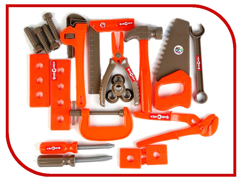Игра Играем вместе Набор строительных инструментов Фиксики B1089937-R ролевые игры играем вместе набор строительных инструментов самоделкин