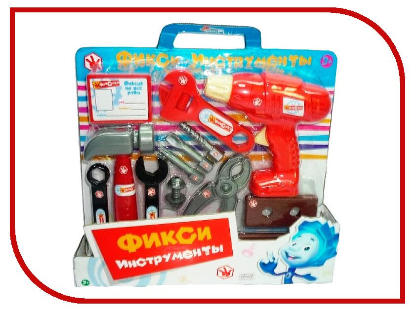 Игра Играем вместе Набор строительных инструментов Фиксики B1482039-R ролевые игры играем вместе набор строительных инструментов самоделкин