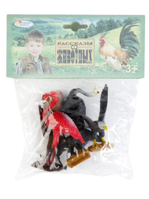 Игрушка Игровой набор Играем вместе Дикие и домашние птицы 6 шт. PH151506A17