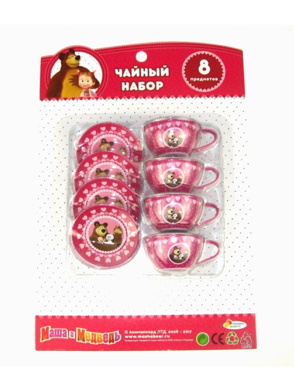 Набор посуды Играем вместе Маша и Медведь H1688-R1