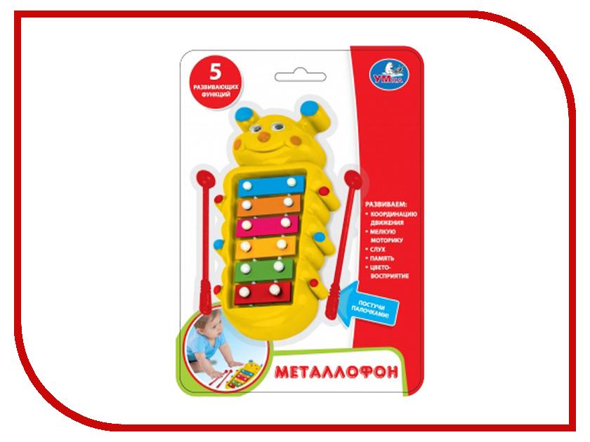Детский музыкальный инструмент Умка Металлофон B437-H29056-R / 252066