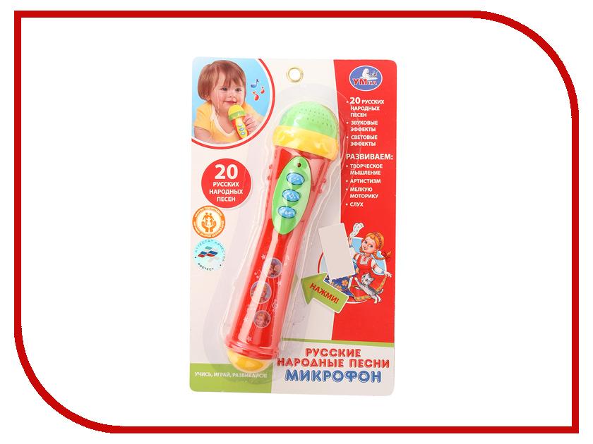 Детский музыкальный инструмент Умка Микрофон B1082812-R9 / 252752