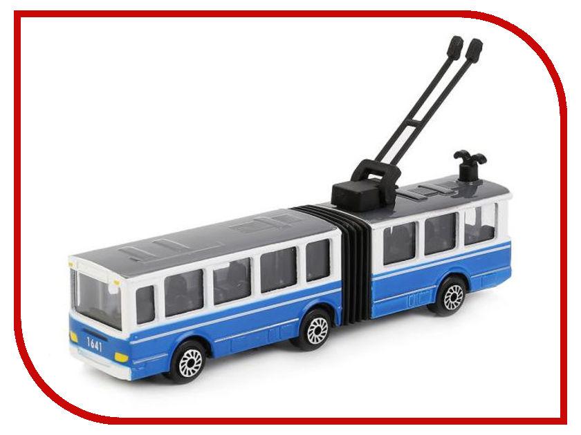 Машина Технопарк Автобус с гармошкой SB-17-31-BLC спот ★ импортированные голубой автобус автобус автобус автомобиль тайо игрушка тянуть обратно автомобиль корея продукты