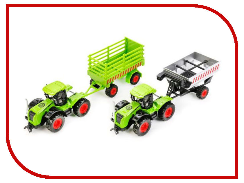Игрушка Технопарк Трактор с прицепом 77039-R игрушка технопарк зил 130 самосвал x600 h09122 r