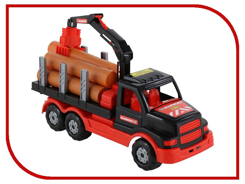 Машина Полесье Mammoet Лесовоз 68521 автомобиль кран полесье mammoet с поворотной платформой 56771