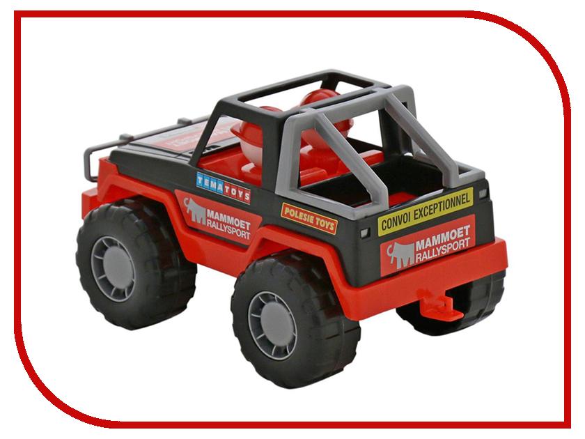 Игрушка Полесье Mammoet Ралли-джип 64325 полесье полесье игрушка каталка mammoet volvo мега экскаватор колесный