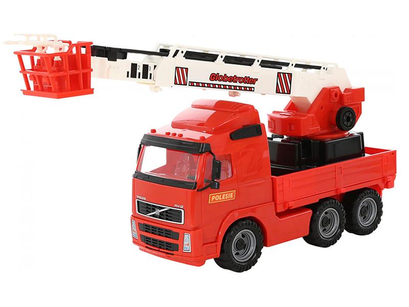Игрушка Полесье Volvo Автомобиль пожарный 58386 автомобиль пожарный полесье volvo в сеточке 8787