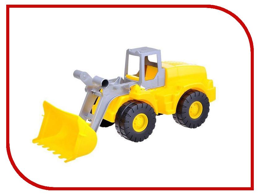 Машина Полесье Агат Трактор-погрузчик 41852 машина детская полесье полесье набор автомобиль трейлер трактор погрузчик