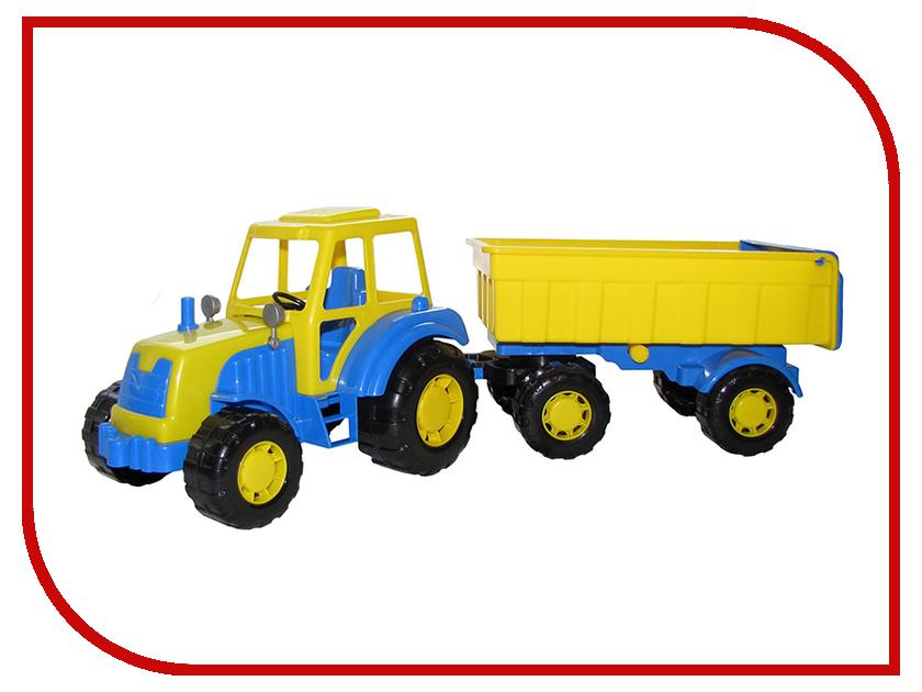 Машина Полесье Алтай Трактор с прицепом №1 35332 полесье конструктор автомобиль легковой с прицепом