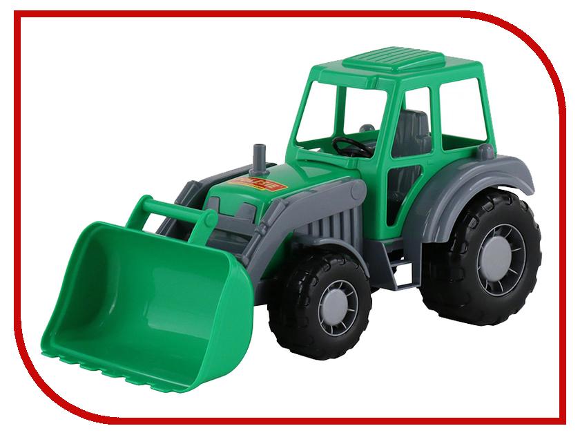 Машина Полесье Алтай Трактор-погрузчик 35387 машина детская полесье полесье набор автомобиль трейлер трактор погрузчик