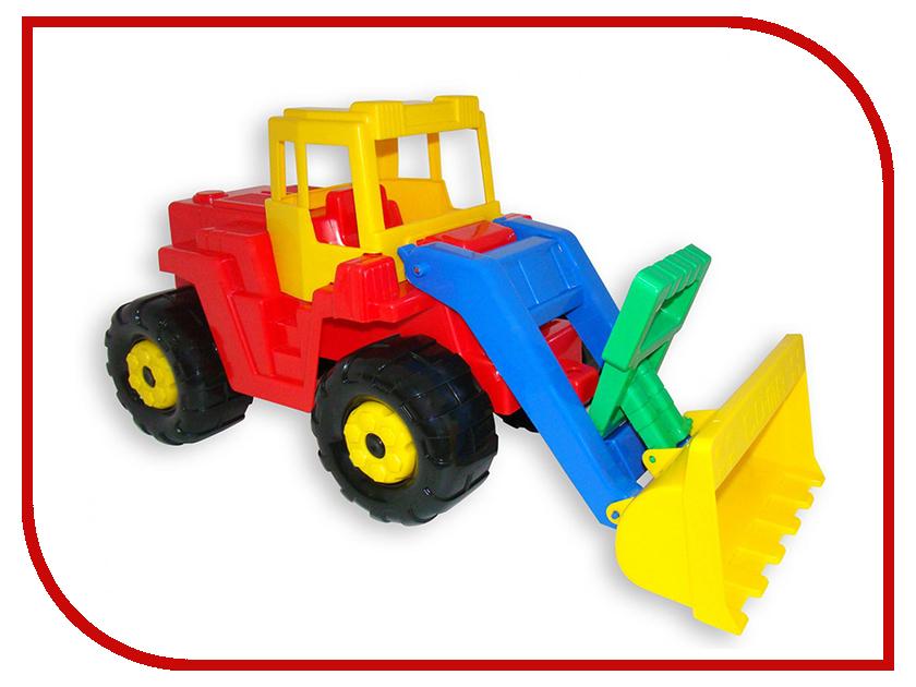 Машина Полесье Батыр трактор-погрузчик 41821 машина детская полесье полесье набор автомобиль трейлер трактор погрузчик