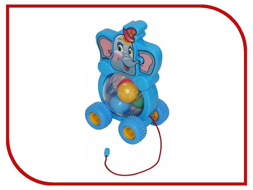 Каталка Полесье Бимбосфера Слонёнок 54432 полесье полесье каталка mig скутер
